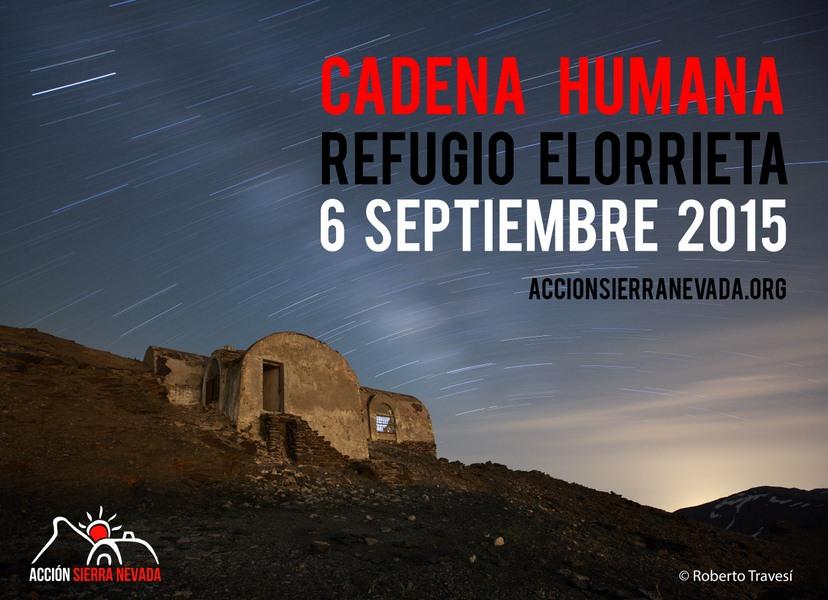 Cadena Humana al Refugio Elorrieta